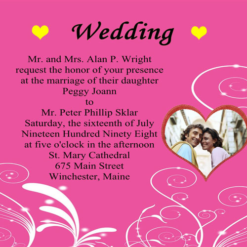 Wedding Invite Quotes: Wedding Invitation Sayings And Quotes. QuotesGram