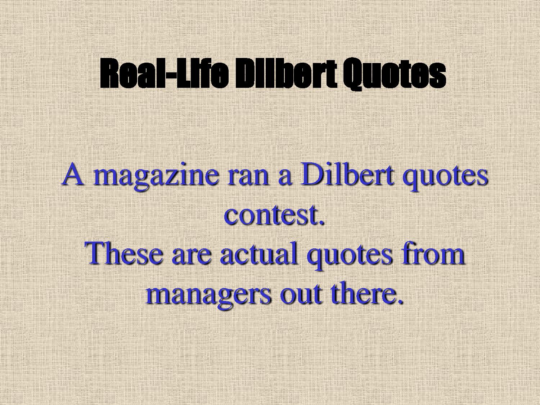 Great Dilbert Quotes  Quotesgram