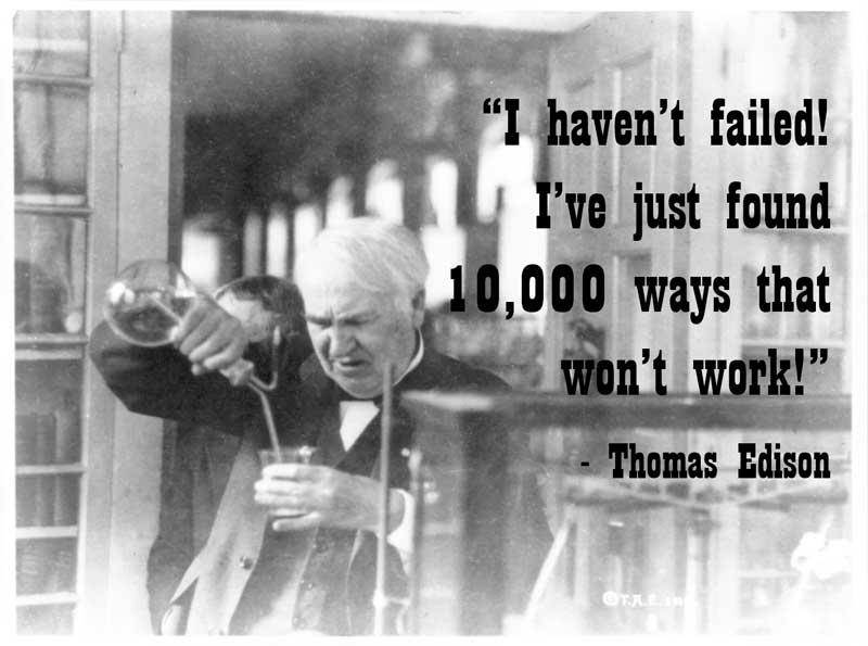 Thomas A. Edison Quotes. QuotesGram