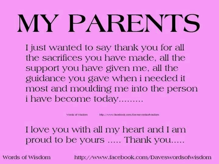 Best Parents Ever Quotes. QuotesGram