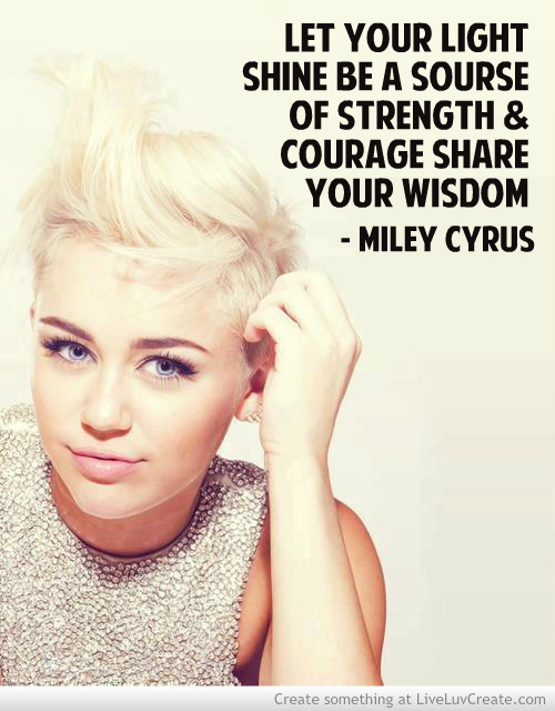 Miley Cyrus Quotes About Haters. QuotesGram
