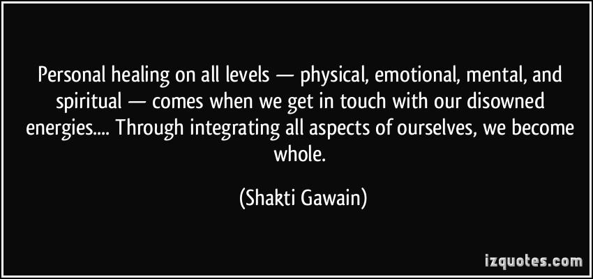 the four levels of healing shakti gawain pdf