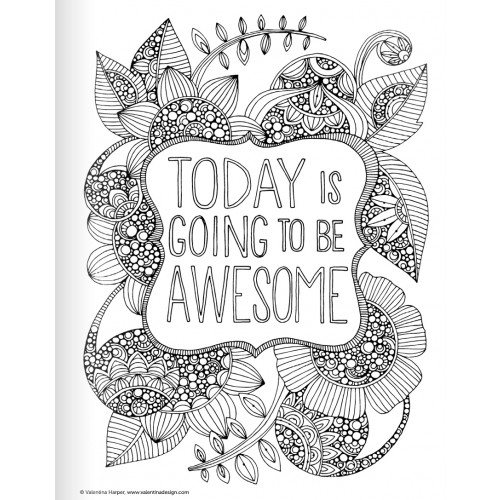 Positive Quotes Coloring Pages. QuotesGram