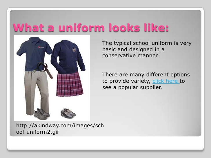 english school uniforms essay