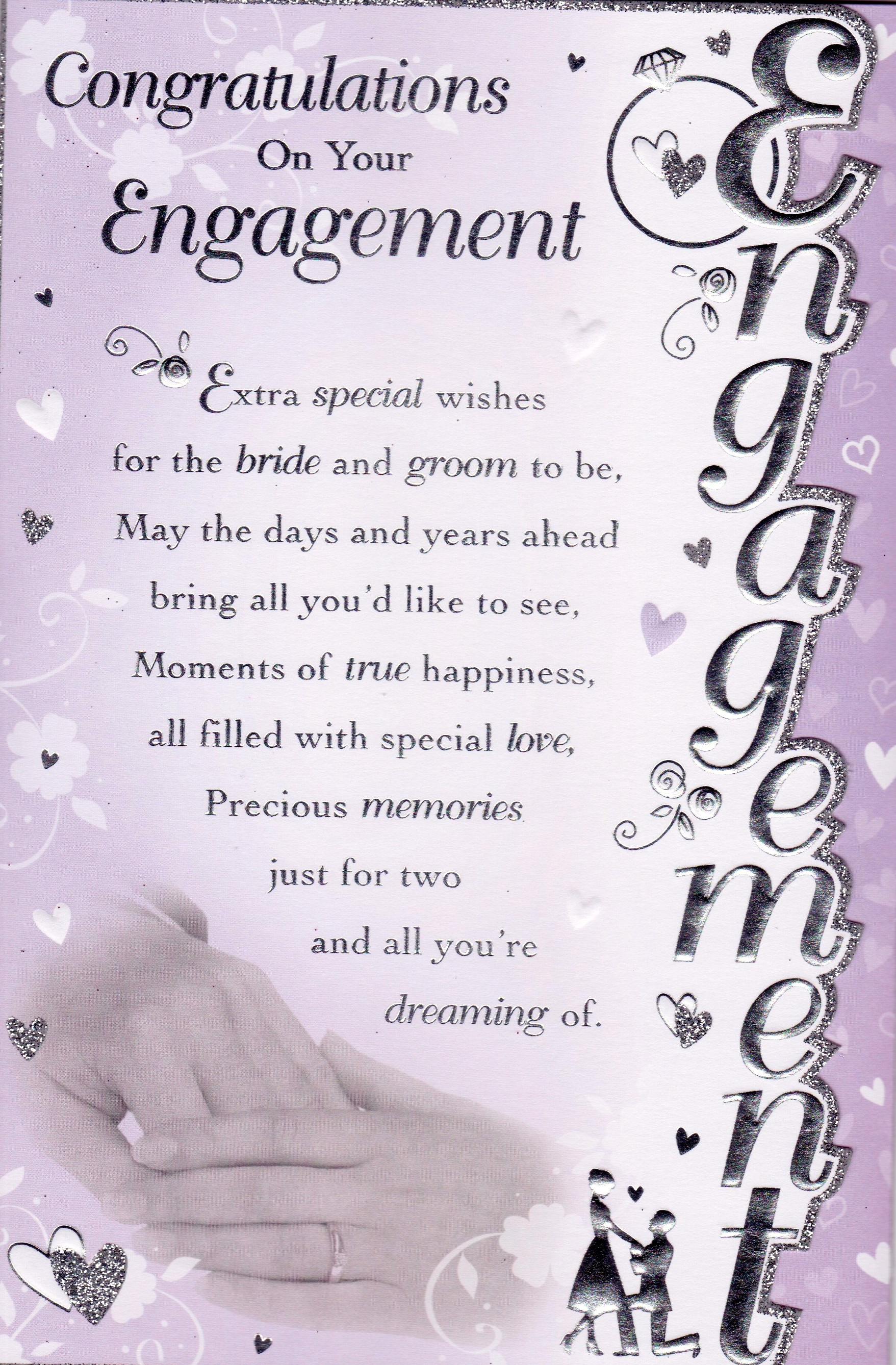 Congratulations On Your Engagement Quotes Quotesgram