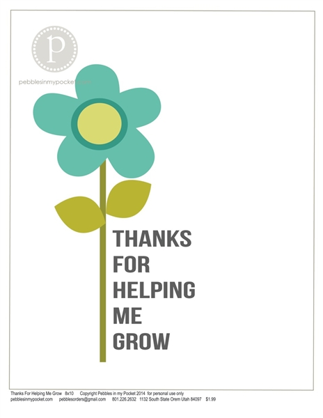 Thanks For Helping Me Grow Quotes: Thanks For Helping Quotes. QuotesGram