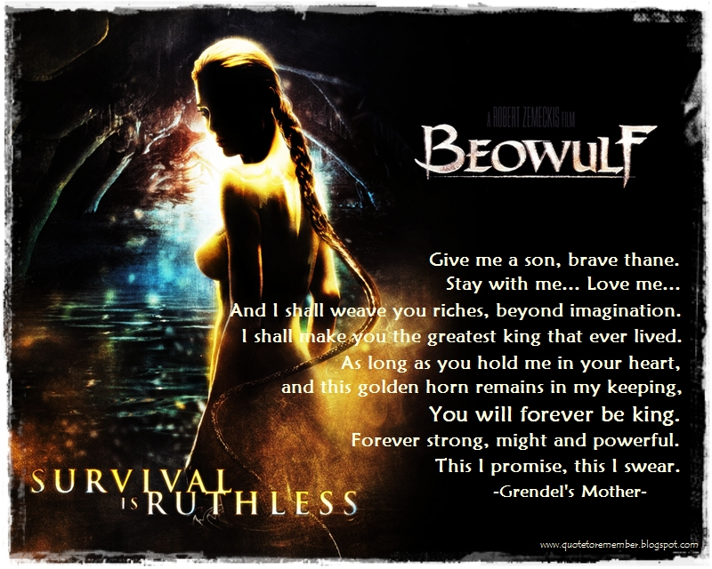 essays about beowulf themes