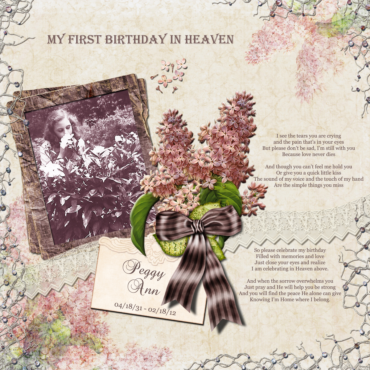 Happy birthday from heaven quotes quotesgram