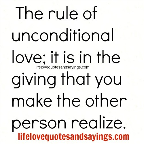 Quotes About Love Unconditionally : Unconditional Love Quotes For Couples. QuotesGram