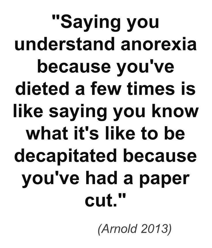 Pro Ana Quotes: Quotes About Anorexia Nervosa. QuotesGram