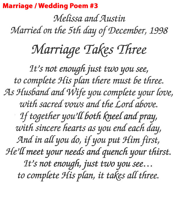 Marriage Quotes And Poems. QuotesGram