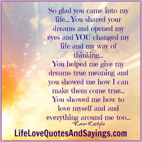 Lyrics to glad u came