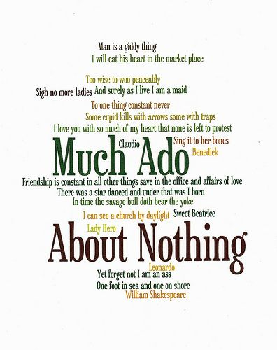 Critical Essay Much Ado About Nothing