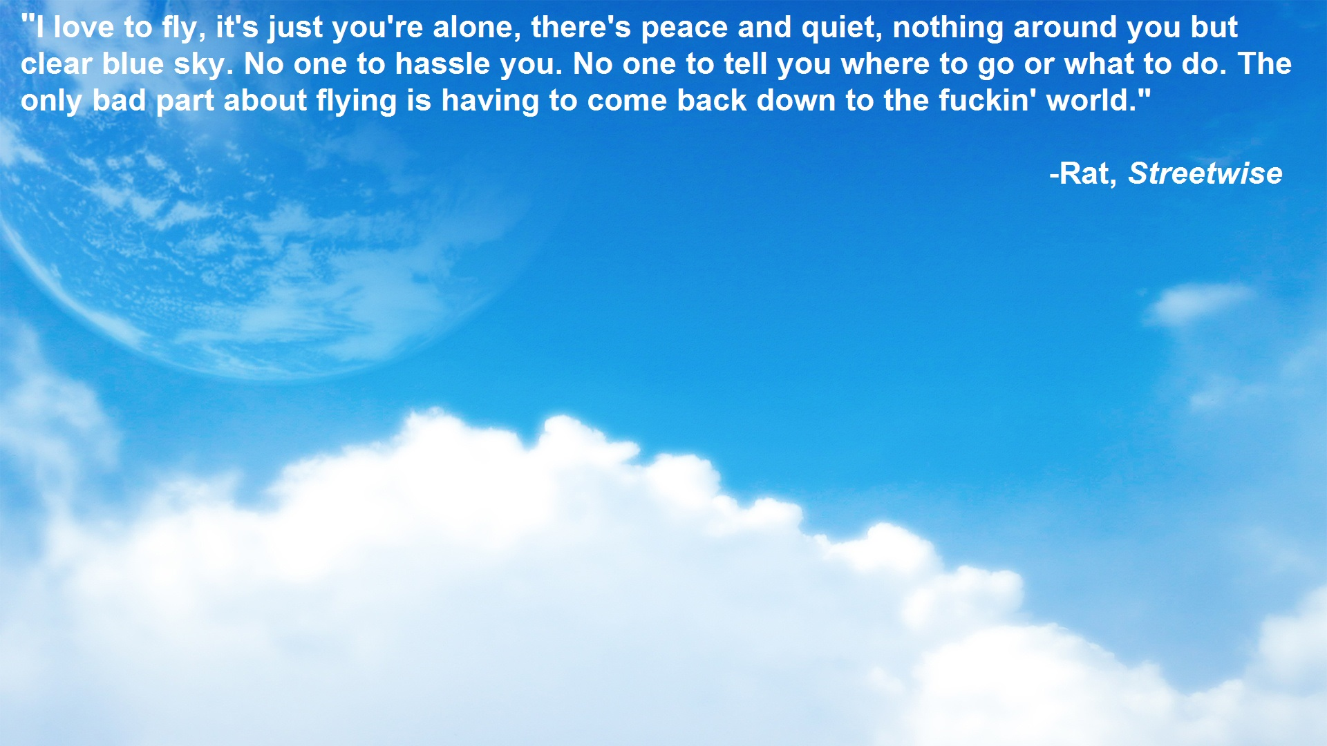 quotes about flying and life