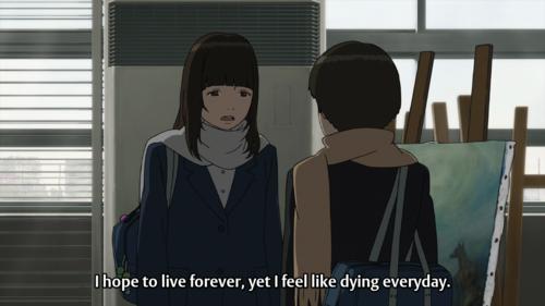 Sad Manga Quotes Quotesgram