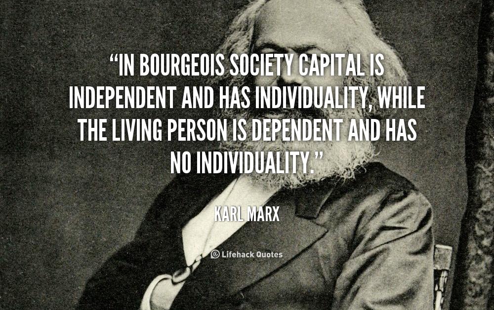karl marx capitalist society essay