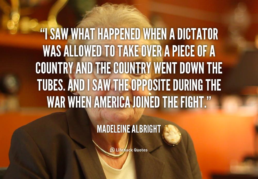 Madeleine albright quotes