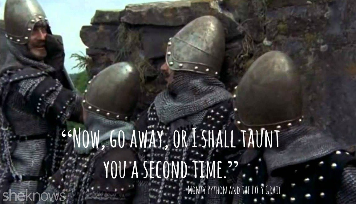 monty python and the holy grail quotes quotesgram
