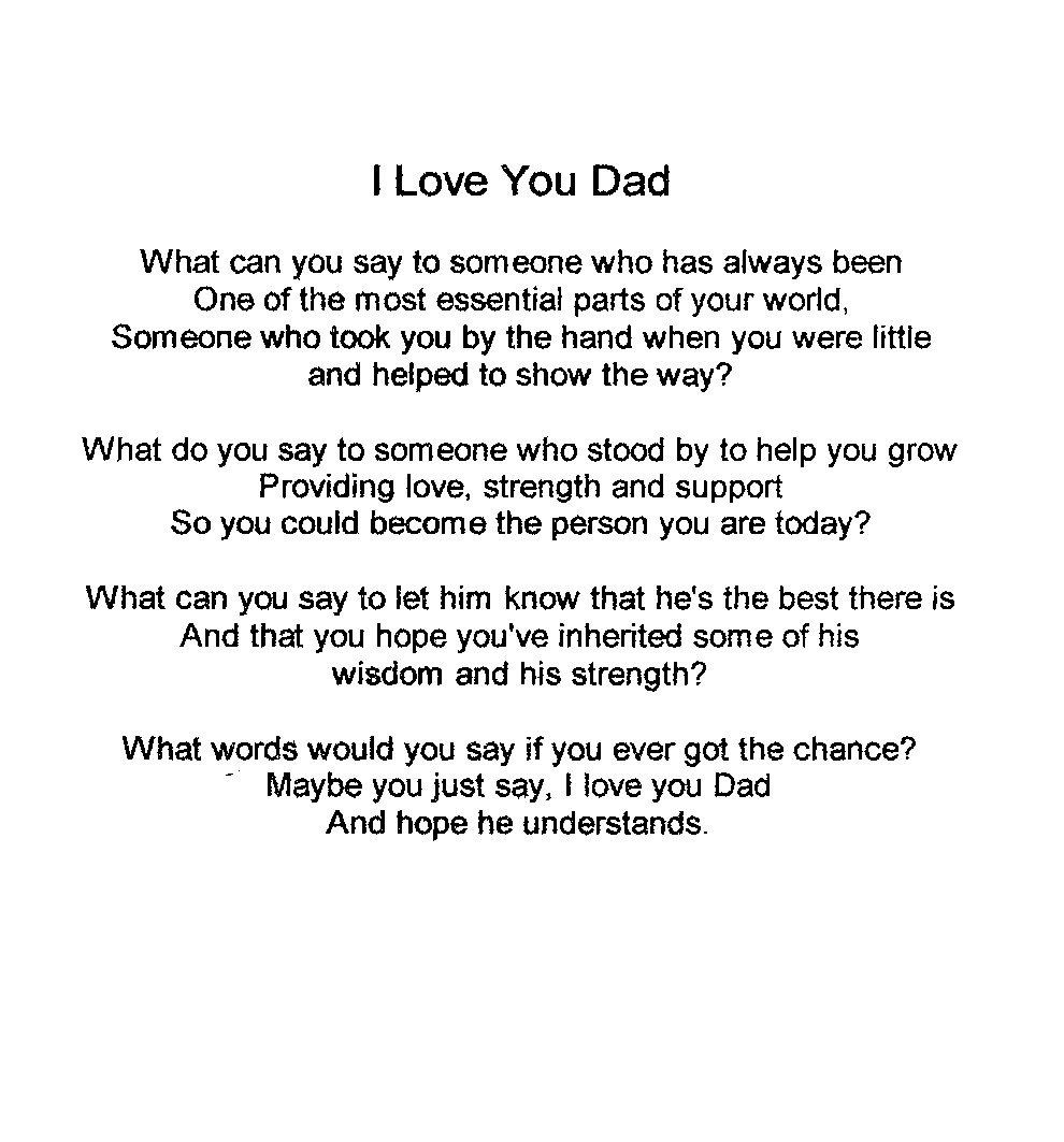 Sorry To My Daughter Quotes. QuotesGramI Love My Dad Poems That Will Make You Cry