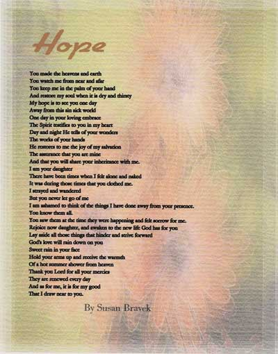 Hope Quotes And Poems Quotesgram