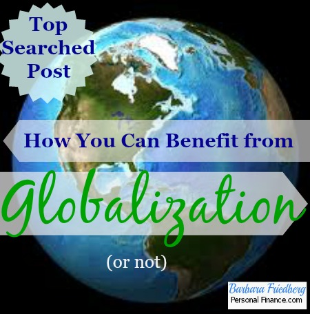 effects of globalisation on environment The globalization of pollution by the editorial board jan 24, 2014 emissions from chinese factories that make goods for the american market are.