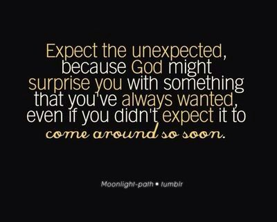 expect the unexpected relationship quotes