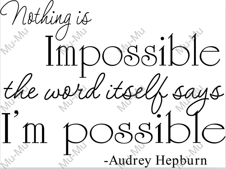 Nothing Is Impossible Quotes. QuotesGram