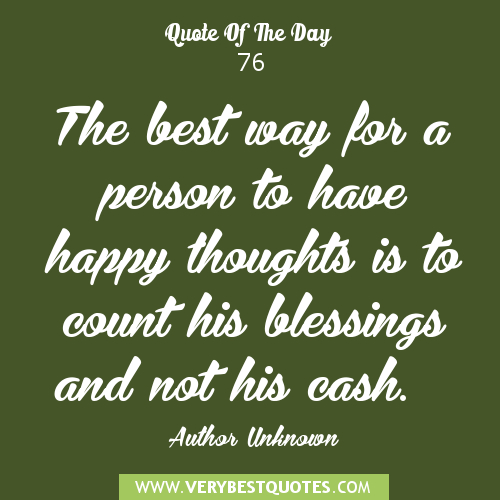 Quote Of The Day: Thought For The Day Quotes. QuotesGram