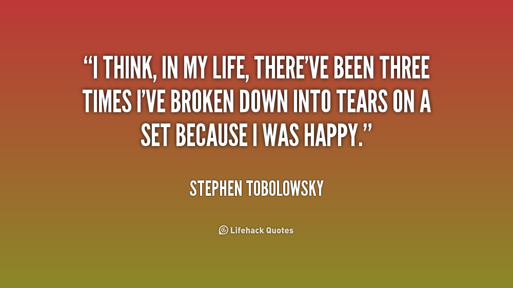 Stephen Tobolowsky Quotes Quotesgram