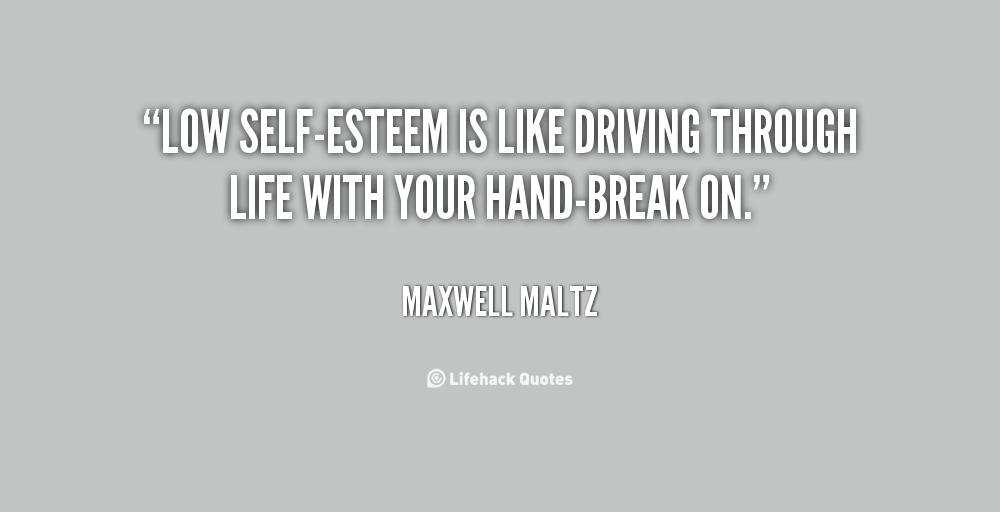 Low Self-Esteem Quotes. QuotesGram