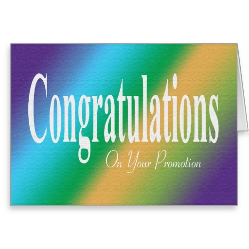 Congrats On Your New Job Quotes: Congratulations On Your Promotion Quotes. QuotesGram