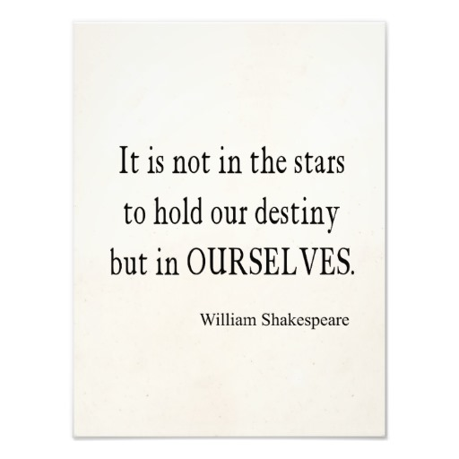 the fault is not in our stars but in ourselves essay help