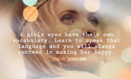 Beautiful Girls Eyes Quotes. QuotesGram