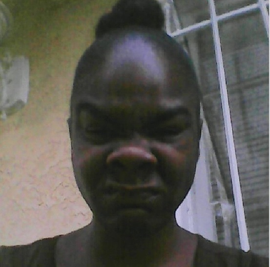 Fat black girl selfie-8449