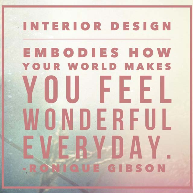 interior design inspirational quotes quotesgram