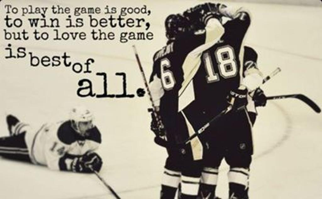 Good Hockey Quotes: Funny Hockey Quotes And Sayings. QuotesGram