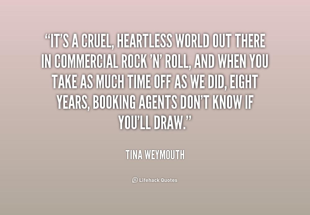 Cruel World Quotes. QuotesGram
