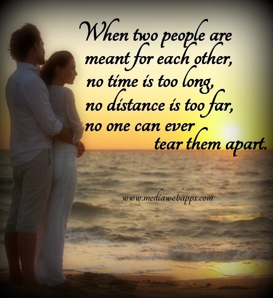 Apart From Them: Time Apart Love Quotes. QuotesGram