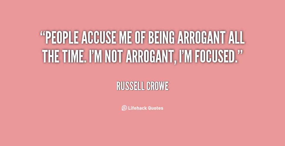 Arrogant People Quotes. QuotesGram