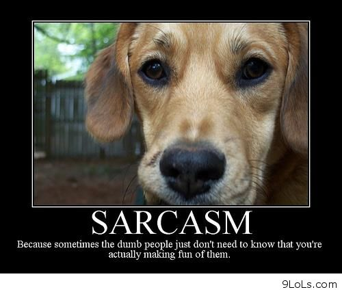 Sarcastic Quotes From Dogs. QuotesGram