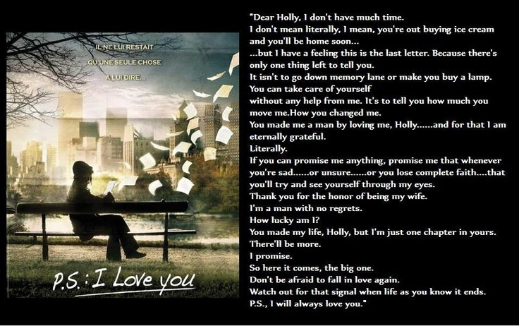 I Love You Quotes: Ps I Love You Movie Quotes. QuotesGram
