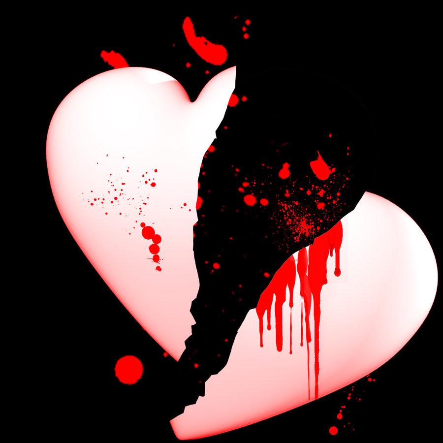 грустные картинки разбитые сердца помощью