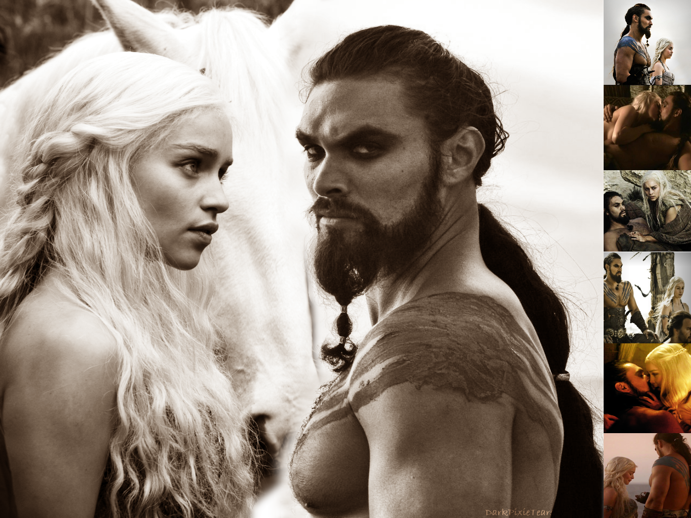 khal drogo and daenerys relationship quotes