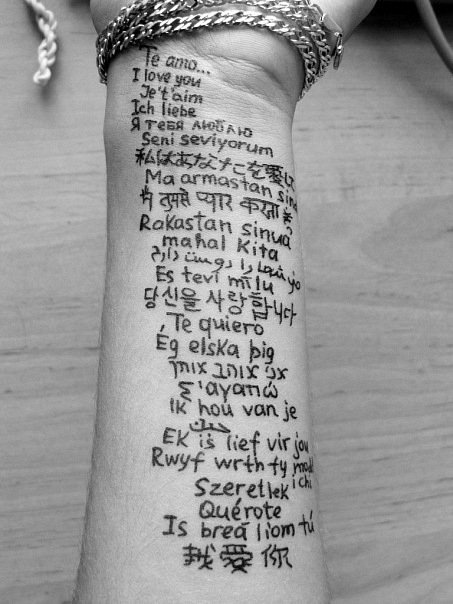 Beautiful Quotes In Different Languages. QuotesGram