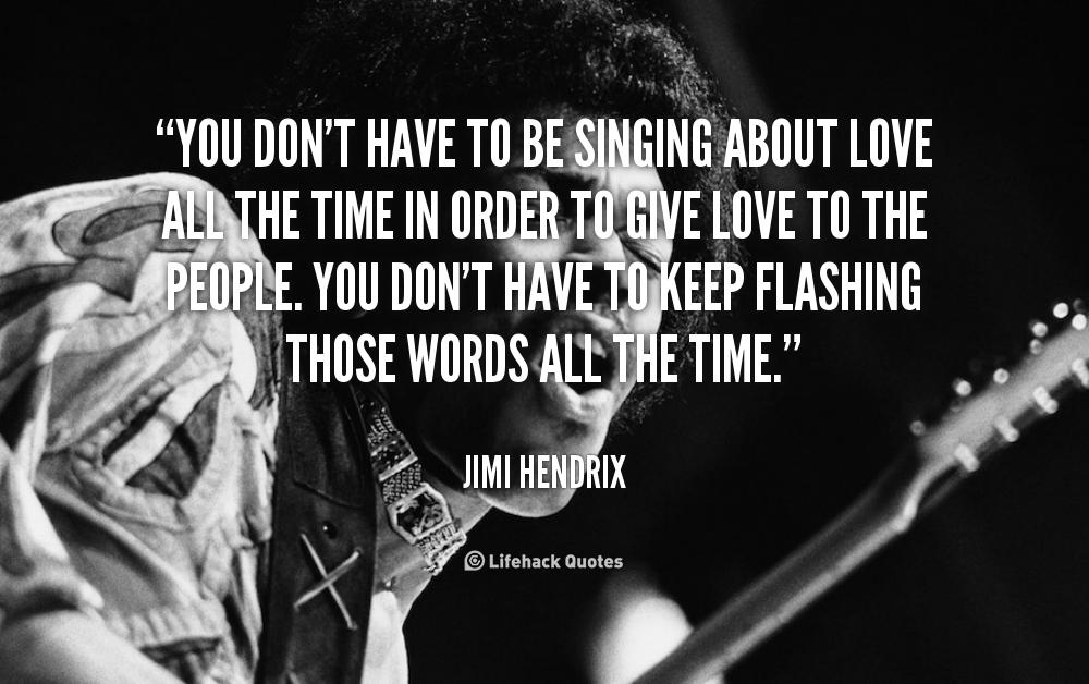 Jimi Hendrix Quotes. QuotesGram