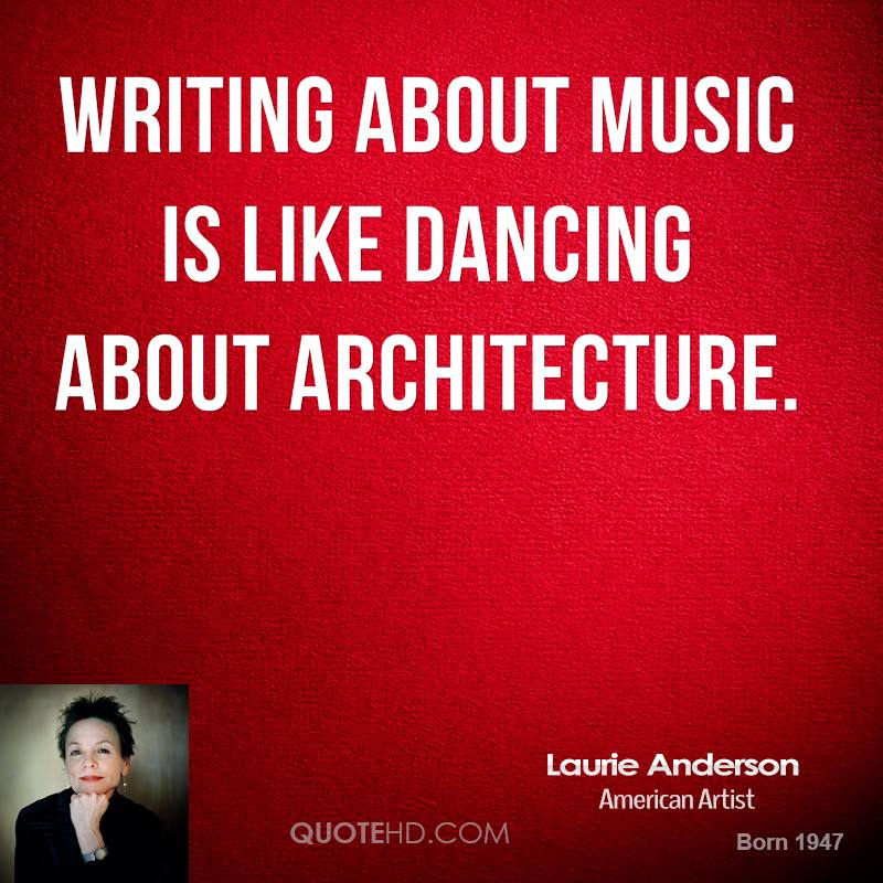 laurie anderson essay Essay about speak by laurie halse anderson - speak by laurie halse anderson speak, by laurie halse anderson, is a story written in the first person about a.