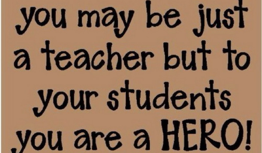 the amazing ability of a teacher to shape a students life