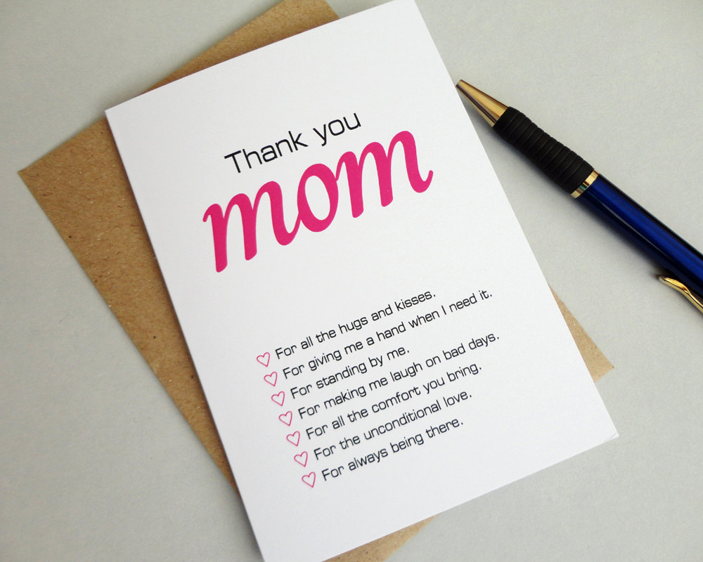 Quote For My Mom To Thank: Thank You Mom Quotes. QuotesGram