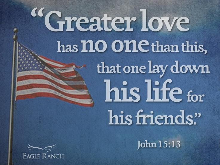 Memorial Day Biblical Quotes Quotesgram