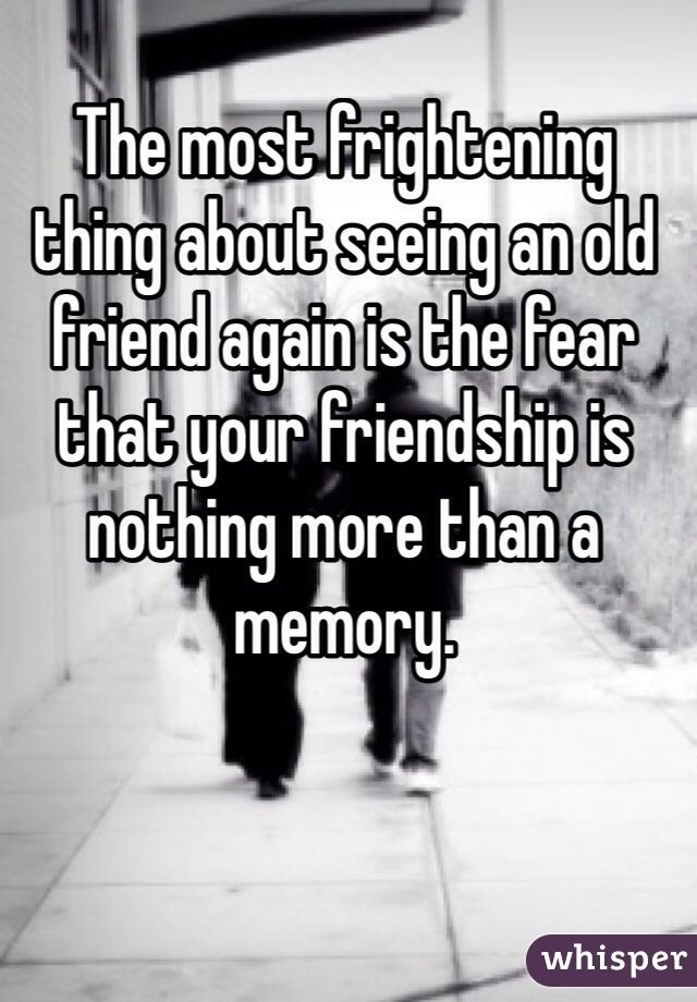 Good Quotes On Old Friends : Seeing old friends quotes quotesgram